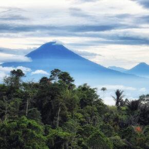Indonesien Sulawesi Tomohon Mount Lokon
