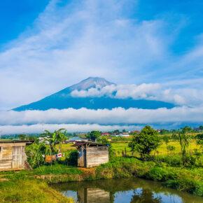 Indonesien Sumatra Kerinci Vulkan