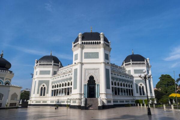 Indonesien Sumatra Medan Moschee