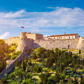 Kroatien Hvar Festung Fortica