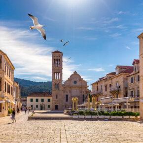Kroatien Hvar Kathedrale