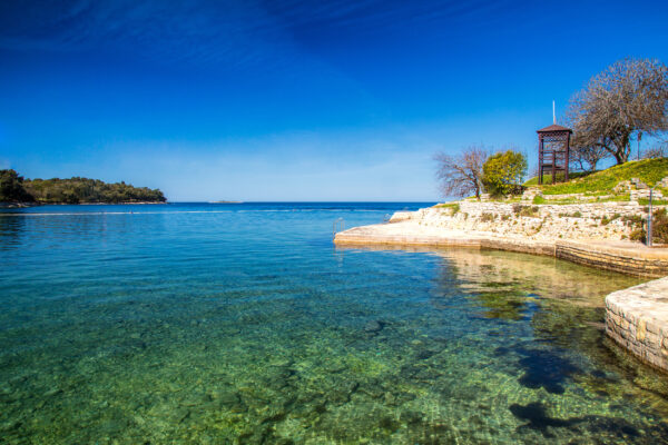 Kroatien Porec Lagoon Bay