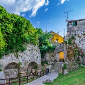 Kroatien Porec Stadtmauer