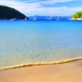 Kroatien Prapratno Beach