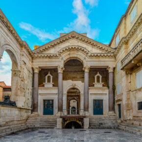 Kroatien Split Diokletian Peristyl