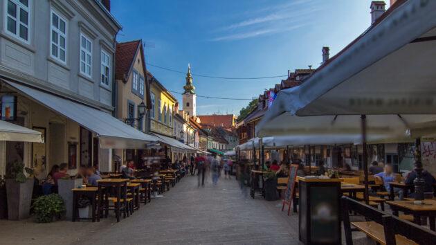 Kroatien Zagreb Restaurants