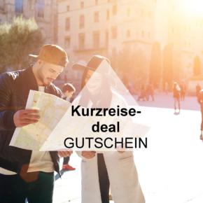 Exklusiver Kurzreisedeal Gutschein: 20% auf Euren Kurzurlaub sparen