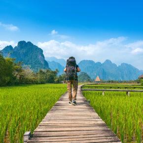 Laos Backpacking: Kostenloser Guide für die Reiseplanung