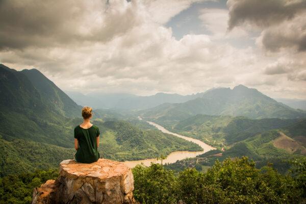 Laos Nong Khiaw Frau
