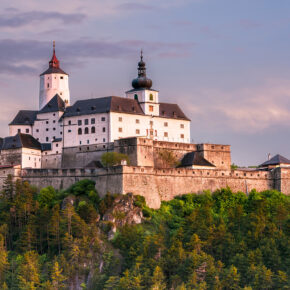 Österreich Burg Forchtenstein