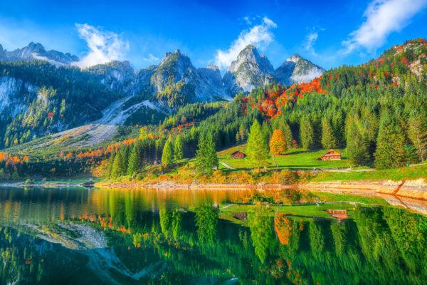 Österreich Dachstein See