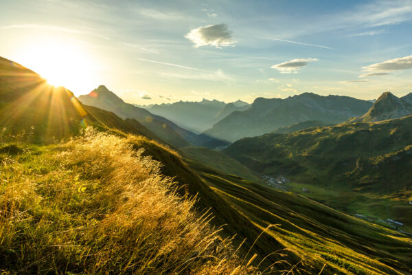 Österreich Vorarlberg Berge
