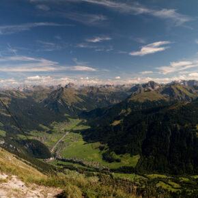Österreich Vorarlberg Kanisfluh