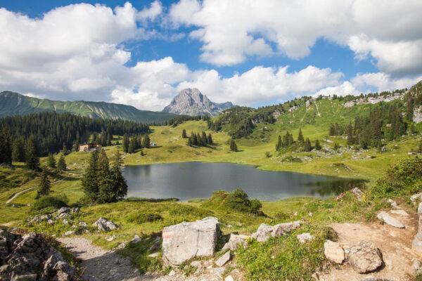 Österreich Vorarlberg Körbersee