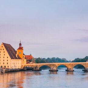 Regensburg Steinere Brücke