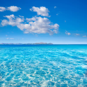 Spanien Mallorca Alcudia Can Picafort Wasser