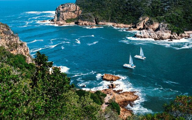 Südafrika Yacht Meer