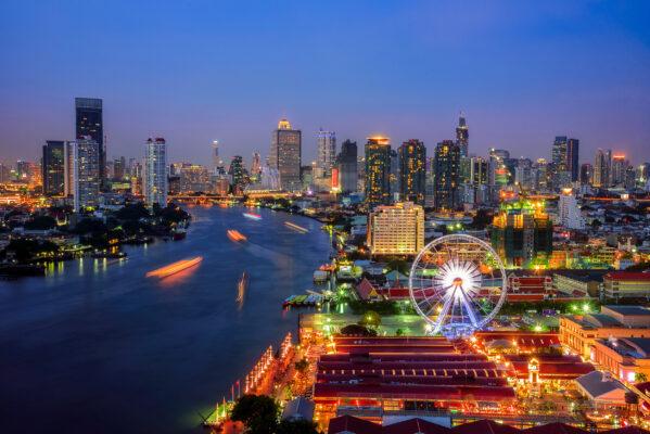 Thailand Bangkok Riesenrad