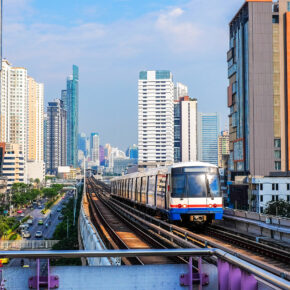 Thailand Bangkok Skytrain