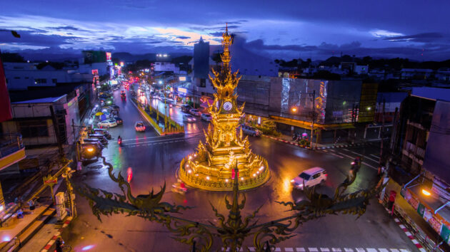 Thailand Chiang Rai Clock Tower