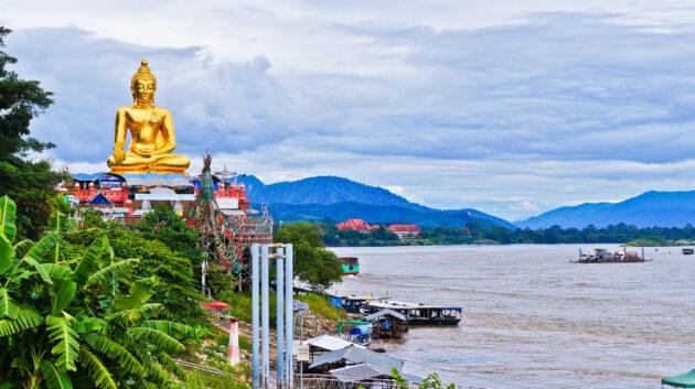 Thailand Chiang Rai Goldenes Dreieck