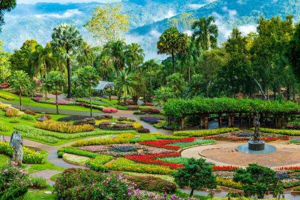 Thailand Chiang Rai Mae Fah Luang Garten