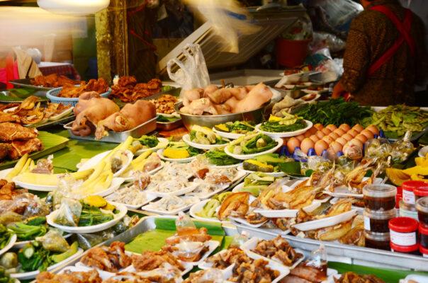 Thailand Chiang Rai Markt