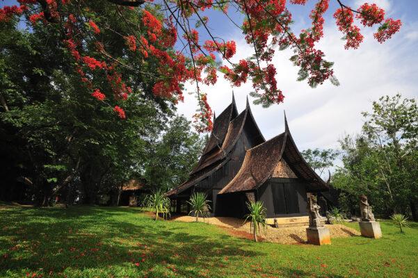 Thailand Chiang Rai Schwarzes Haus
