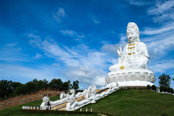 Thailand Chiang Rai Wat Huai Pla Kang