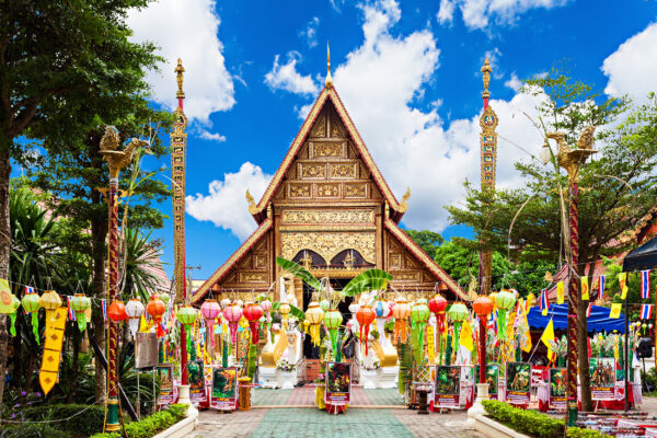 Thailand Chiang Rai Wat Phra Singh