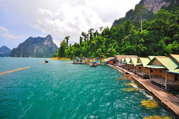 Thailand Khao Sok Nationalpark Fluss