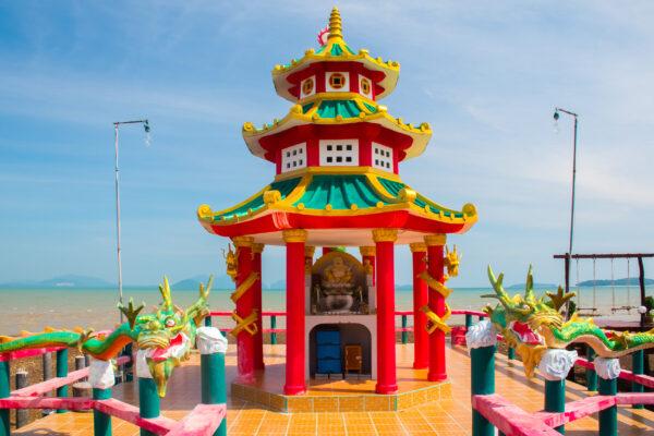 Thailand Koh Lanta Altstadt Tempel