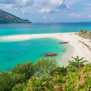 Die Malediven Thailands: 13 Tage auf Koh Lipe im TOP Beach-Bungalow mit Flug nur 533€