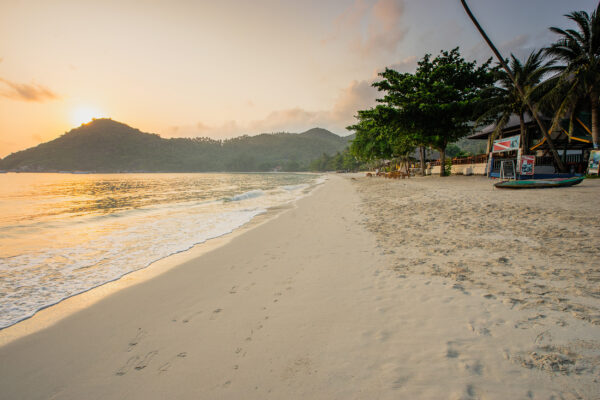 Thailand Koh Phangan Thong Nai Pan Yai Beach
