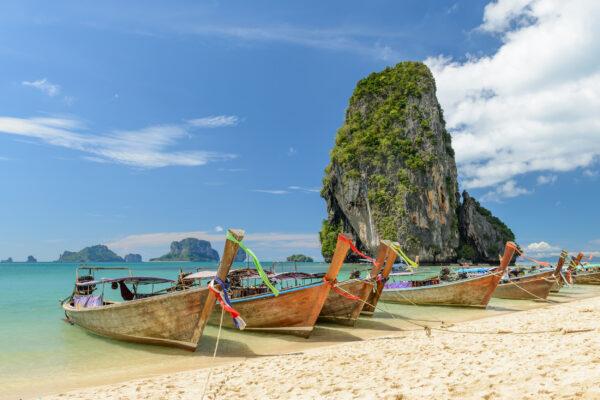Thailand Krabi Phra Nang Beach