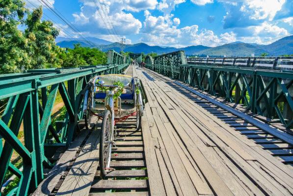 Thailand Pai Memotiral Bridge