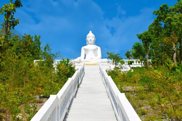Thailand Pai Weisser Buddha