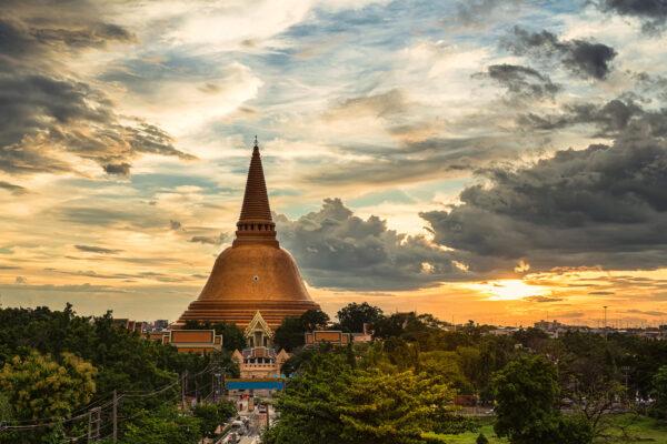 Thailand Phra Pathom Chedi