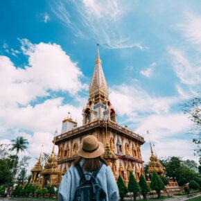 Thailand Phuket Backpacking Tempel