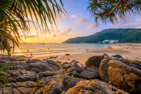 Thailand Phuket Nai Harn Beach