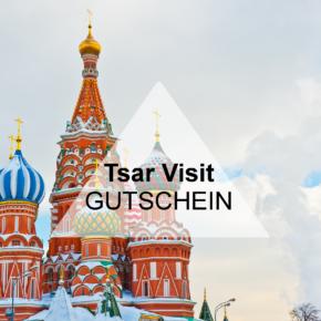Tsar Visit Gutschein: Spart satte 5% auf Ausflüge in Moskau, Sankt-Petersburg & mehr