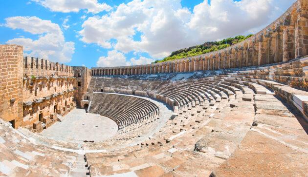 Türkei Aspendos Amphitheater
