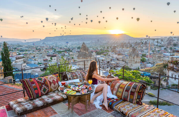 Türkei Cappadocia Breakfast