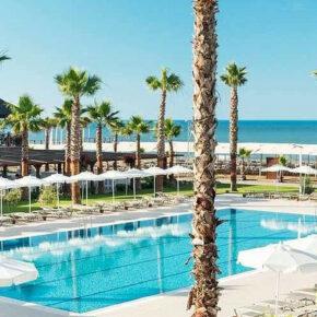 Luxus in der Türkei: 8 Tage im TOP 4* Hotel mit All Inclusive, Flug, Transfer & Zug nur 739€