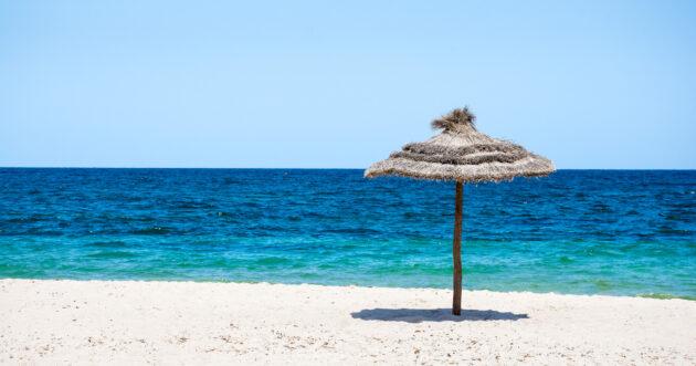 Tunesien Parasol Beach Sonnenschutz
