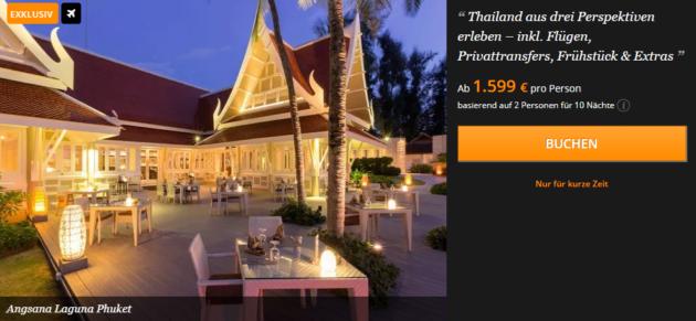 11 Tage Thailand Rundreise