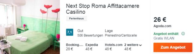 4 Tage Rom