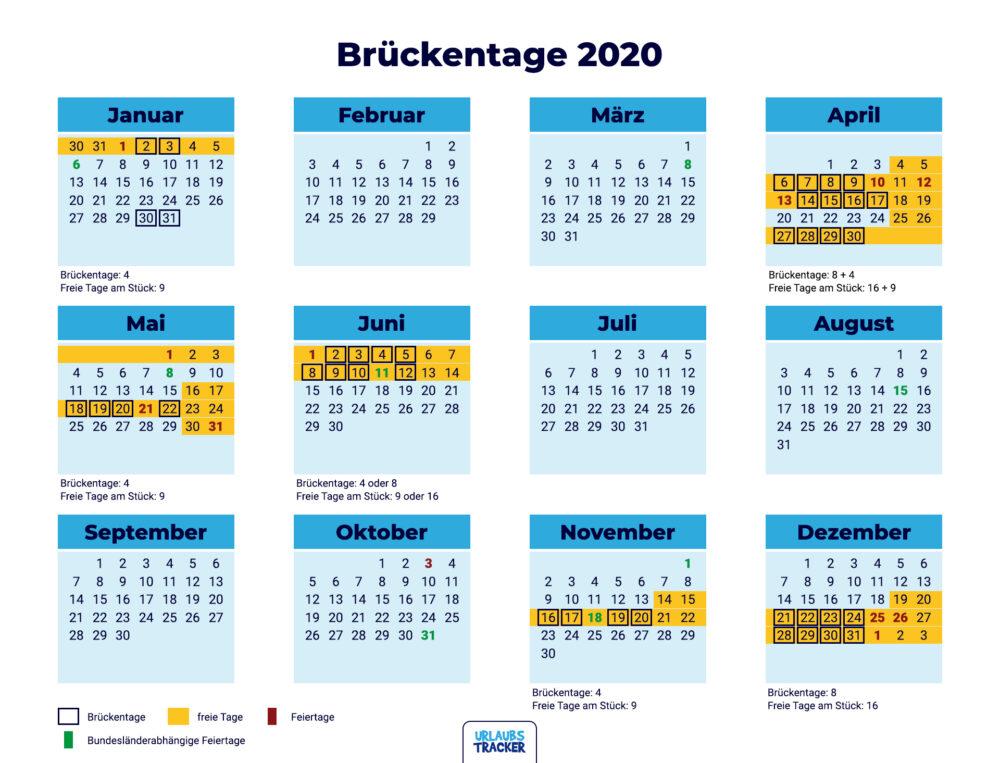Brückentage 2020