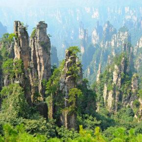 14 Tage durch China: Changsha & Avatar-Berge mit 3* Hotels & Direktflug nur 596€