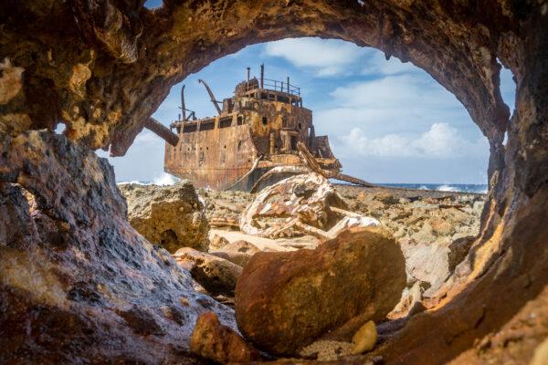 Curacao klein Curacao Schiffswrack